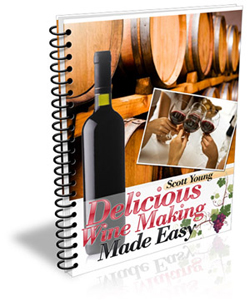 """Delicious Wine Making Made Easy"" winemaking manual"
